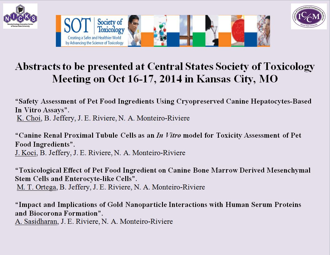 Society of Toxicology Abastract